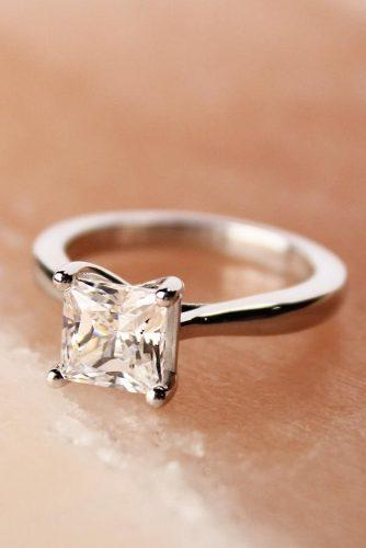 princess cut engagement rings in white gold diamondnexus