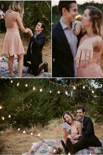 romantic outdoor marriage proposal