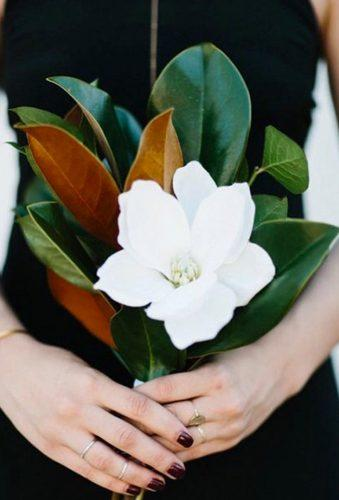 single bloom wedding bouquets single magnolia nextage events