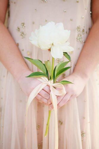 single bloom wedding bouquets stylish single bouquet Diana Marie Photography