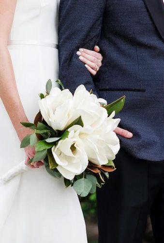 single bloom wedding bouquets tender magnolies bouquet heysidelines