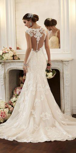 stella york wedding dresses vintage lace wedding dress with beautiful back