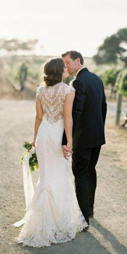 wedding dress shopping guide mermaid illusion lace back bustle josevilla photo