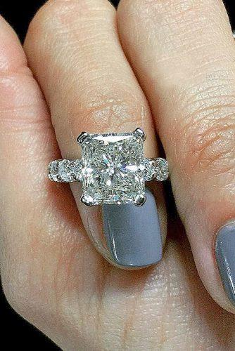 white gold engagement rings princess white jeanpierrejewelers via instagram