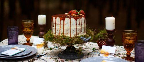 woodland themed wedding cakes featured