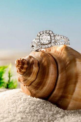 zales engagement rings on the shell