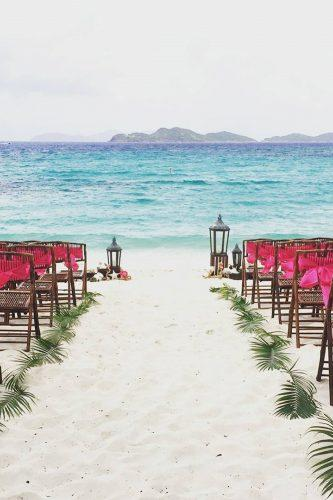 beach wedding decoration ideas the way at the beach islandblissweddings via instagram