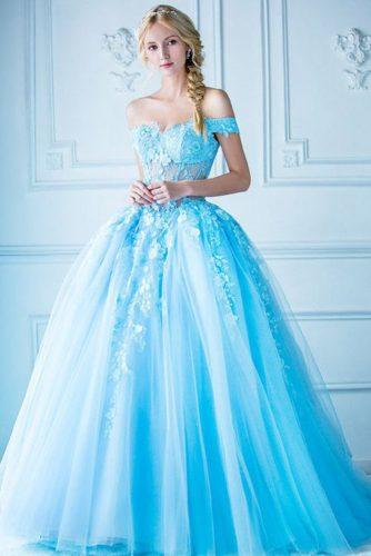 blue wedding theme beatiful bride in blue dress digio bridal