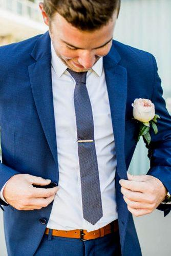 blue wedding theme blue wedding groom attire