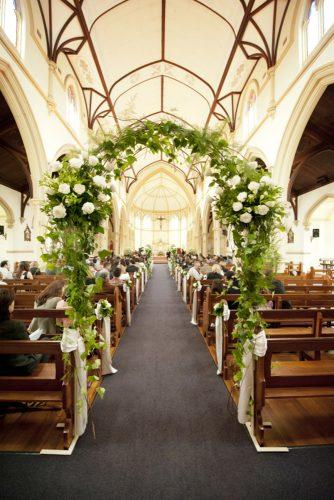 church wedding decorations gorgeous-church aisle rebecca grace