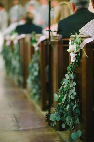 church wedding decorations-greenery-decorations for church aisle sean money elizabeth fay