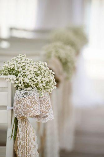 church wedding decorations with babys breath disneyweddings