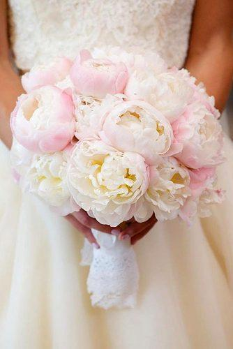 pink wedding bouquets bouquet of ruddy peonies bob & dawn davis photography via instagram