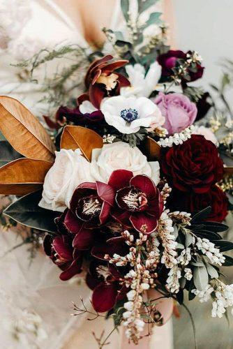 wedding bouquet ideas with orchids and roses acornphotographynz via instagram