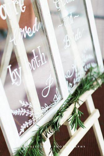 wedding greenery glass signs framelisio photography