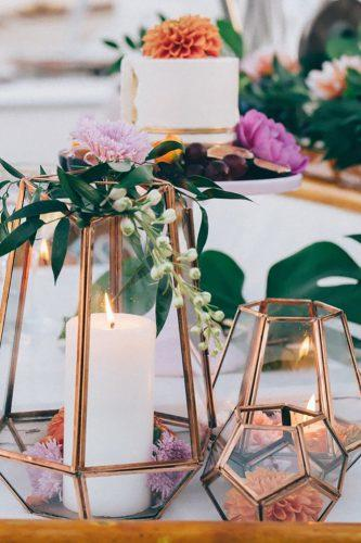 wedding table decorations-creative candles hailley howard