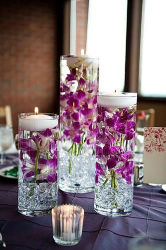 wedding table decorations creative flower glasses pennypack flowers