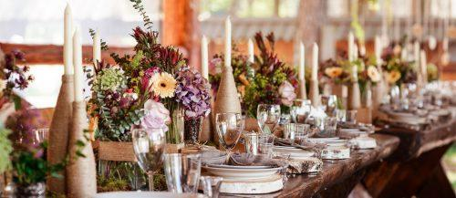 wedding table decorations featured