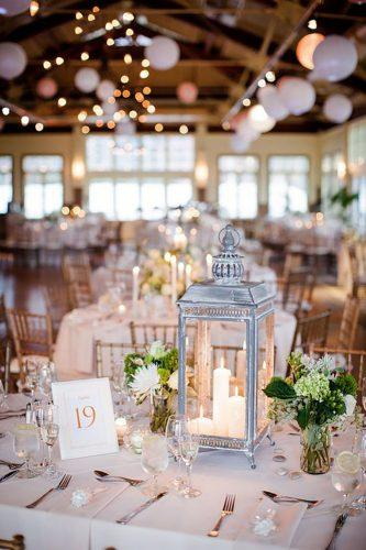 wedding table decorations table with white lantern clybymatthew