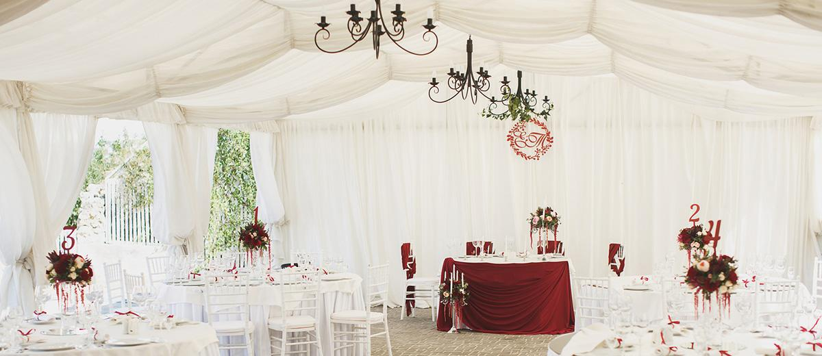 wedding tent featured