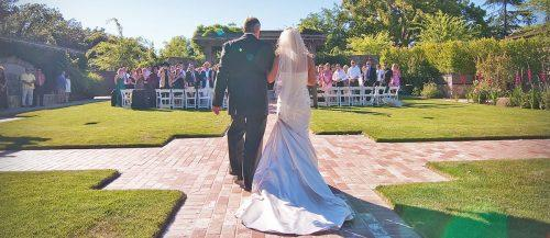 wedding processional order traditional Christian military civil