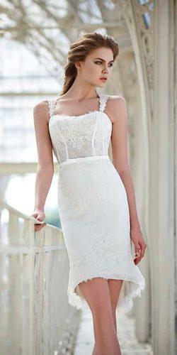 casual lace sweetheart short wedding dresses victoria f