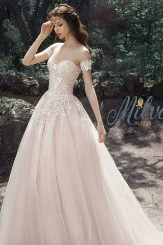 disney wedding disney wedding-dress pink gown milva bridal