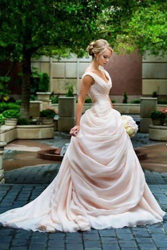 disney wedding princess disney dress pink ball gown izidressbuy