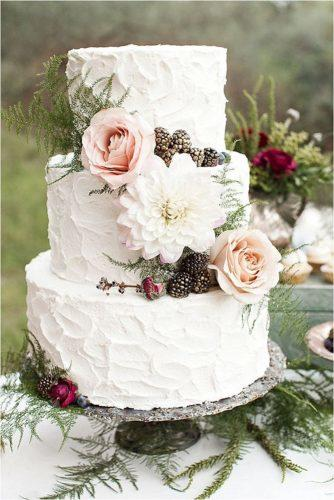 elegant wedding cakes cake with flowers white elice cakes
