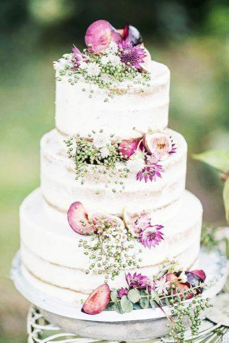 elegant wedding cakes fruit decorated figs heart and soul cakes