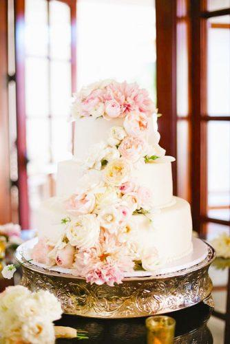 elegant wedding cakes peony decorated great floral kaysha weiner