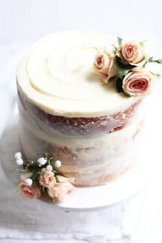 elegant wedding cakes small covered creamy the baker chick