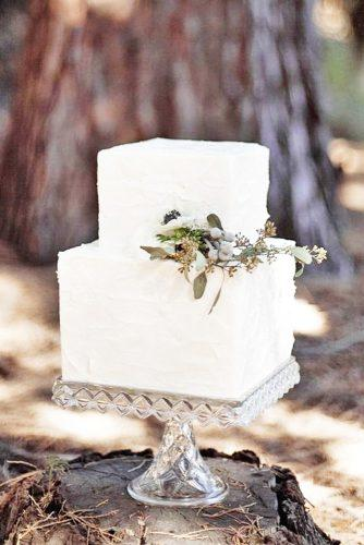 elegant wedding cakes square simple decorated meghan kay sadler