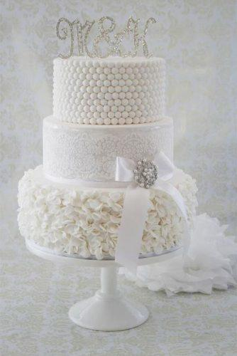 elegant wedding cakes white lace cake central