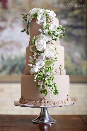 italian wedding cakes creamed cake with flowers-melanie rebane photography