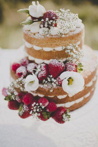 italian wedding cakes nake cake with flowers frankee victoria photography
