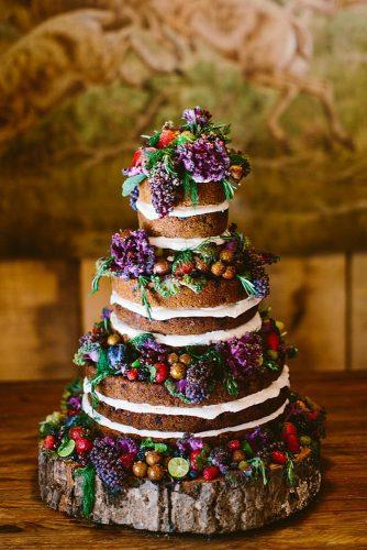 italian wedding cakes naked chocolate wedding cake with fresh fruits with mulberry lime redfield photography