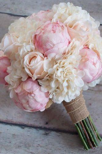 silk wedding bouquets pink peones kate said yes wedding
