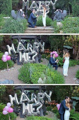 wedding proposal ideas luxury outdoor propose