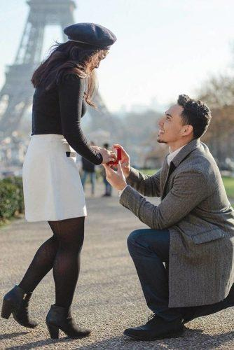 wedding proposal ideas propose in paris
