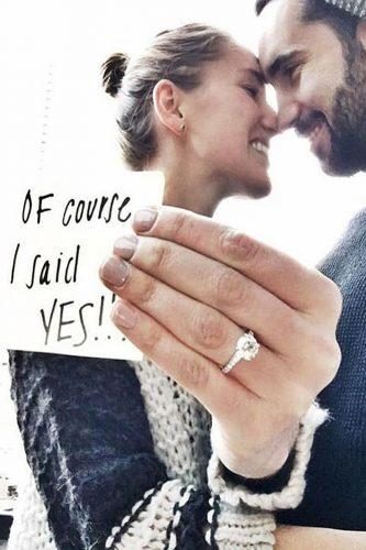 wedding proposal ideas touching one moment after photo
