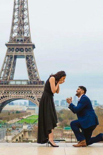 wedding proposal ideas touching paris propose