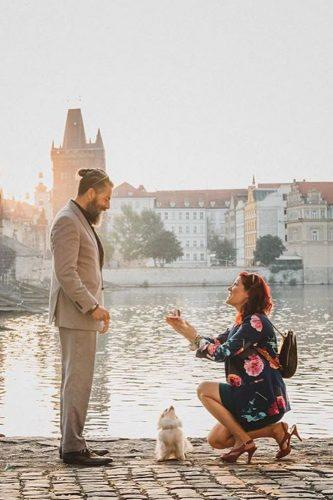 wedding proposal ideas unexpected woman propose