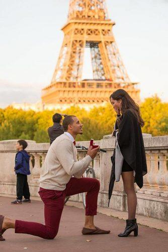 wedding proposal ideas unexprected paris propose