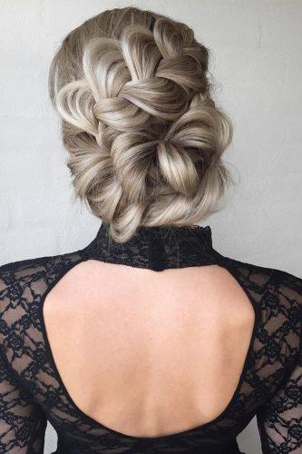 wedding updos for long hair creative gray updo nstarck
