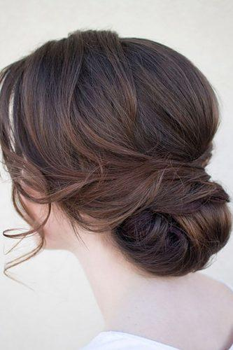 wedding updos for long hair elegant low bun hairandmakeupbysteph