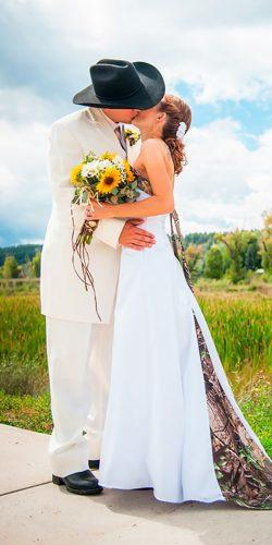 a line strapless white country camo wedding dresses kierstan correnti-