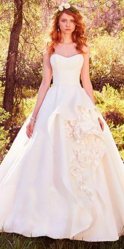 ballgown floral strapless scoop neck maggie sottero wedding dresses 2017 style bianca