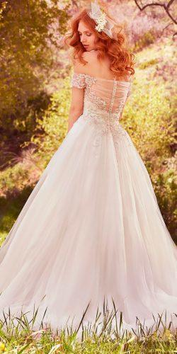 ballgown illusion sweetheart off the shoulder sleeves maggie sottero wedding dresses 2017 style iris