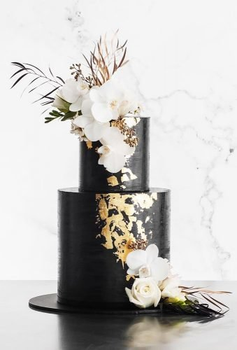 beautiful wedding cakes black wedding cake cake ink